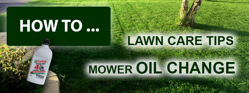 Lawn Mower Oil Change - GR Solutions 360GR Solutions 360
